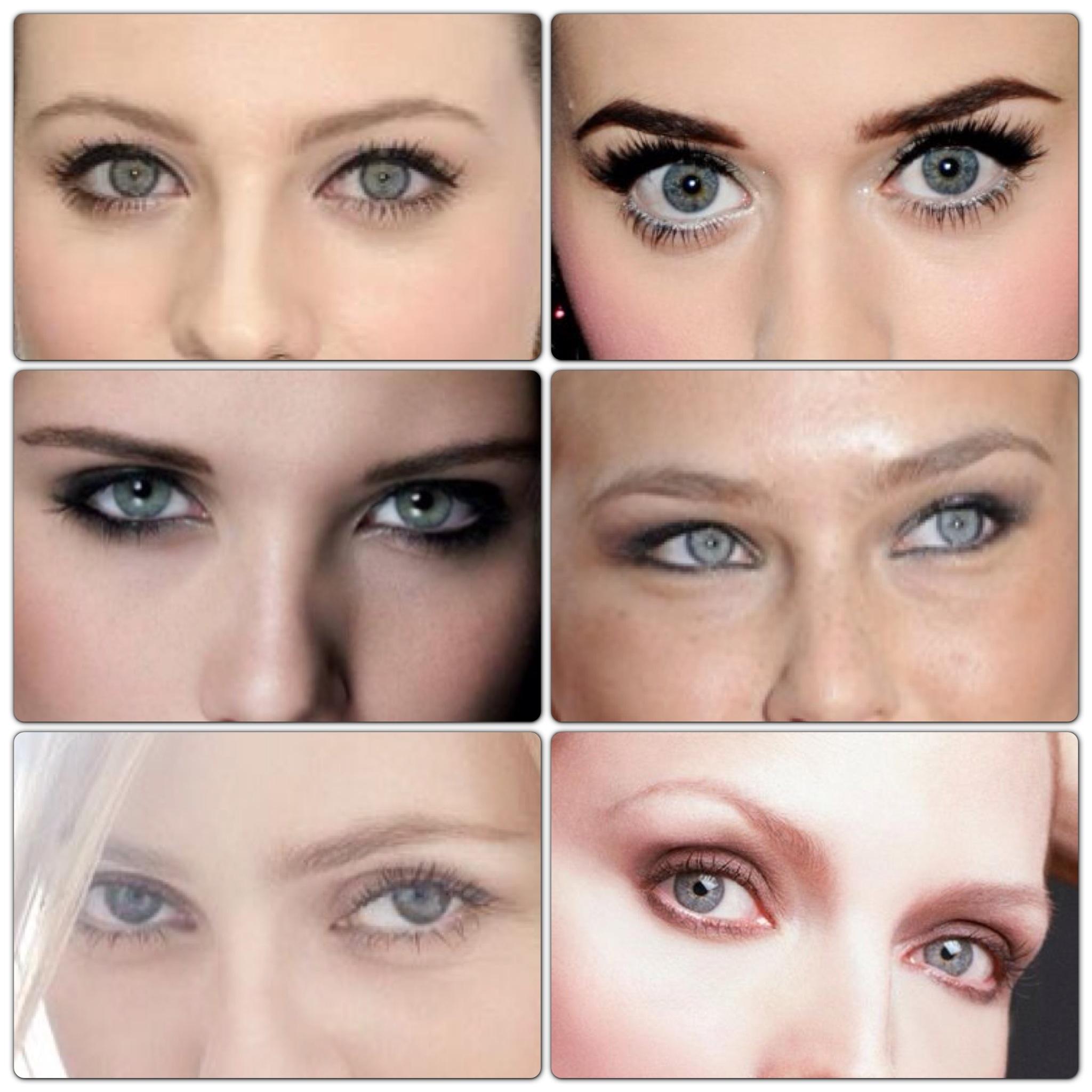 La mode moi mes yeux et leur couleur - Toutes les couleurs grises ...